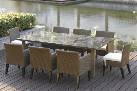 Patio Furniture Table by Stylish Patio Furniture Dining Table Patio Dining Sets