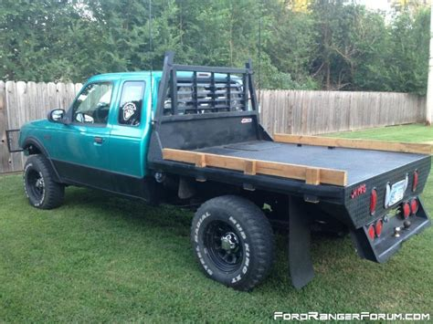 flat bed ford flatbed pics ford ranger forum