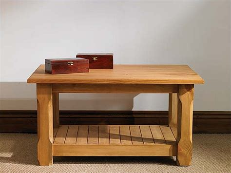 small bench table mottisfont waxed pine potboard coffee table small