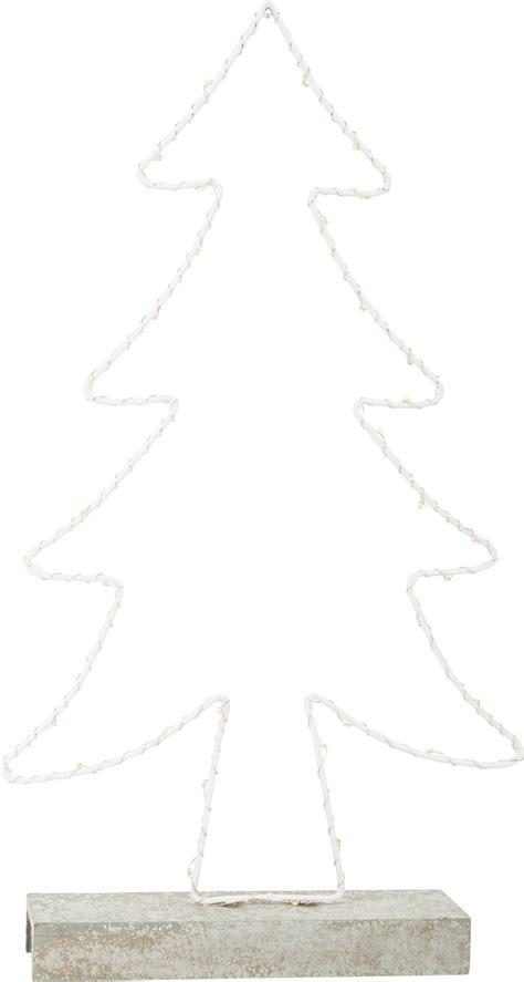 albero illuminato albero illuminato in metallo natale decorazioni e