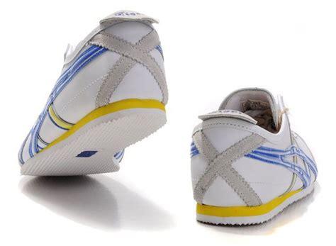Sepatu Onitsuka Tiger 66 White Blue mens onitsuka tiger mexico 66 shoes white blue yellow th9j4l 1128 onitsuka tiger