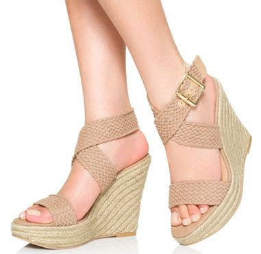 Sepatu Fashion Sneakers Wedges Flowers Shoes wedge sandals for justfab