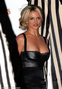 Britneys Bra Showing by Birthday Struggles To Keep Modesty As She
