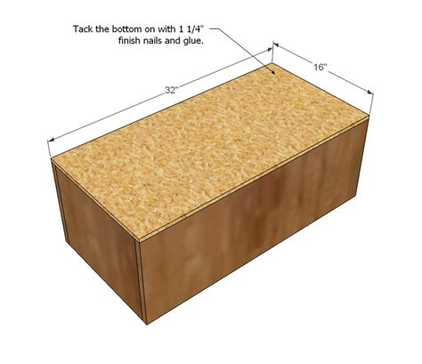 Diy Storage Ottoman Plans Wood Project Ideas Diy Ottoman Plans
