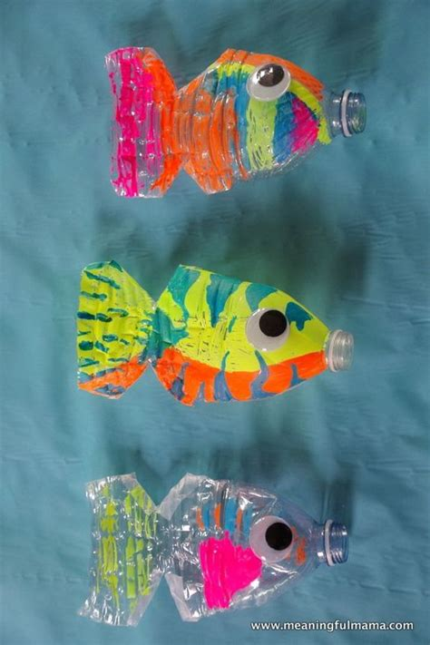 water bottle craft ideas for water bottle fish craft what a craft for the