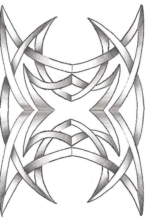 letra r tribal coloring pages