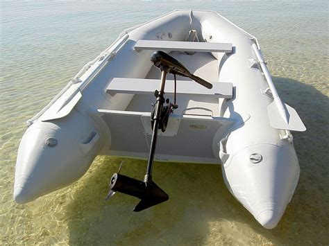 small boat with motor saturn inflatable boats are great with electric trolling