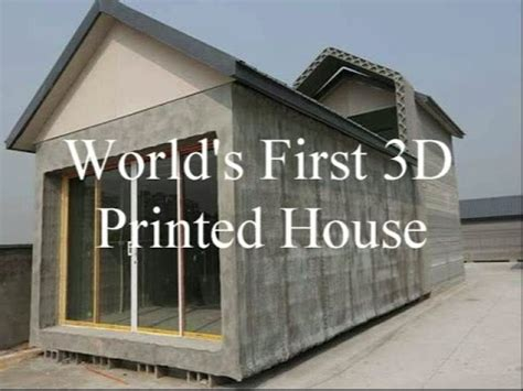 3d print house world s first 3d printed houses youtube