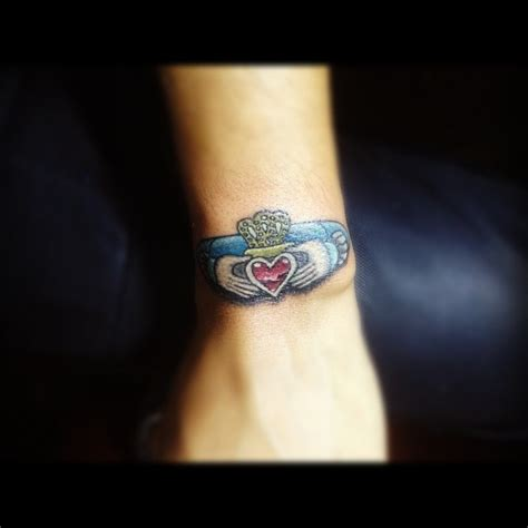 claddagh tattoo wrist 53 best claddagh tattoos ideas