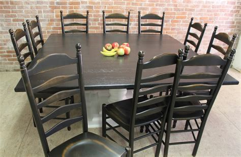 Square Tables built from Reclaimed Wood   ECustomFinishes