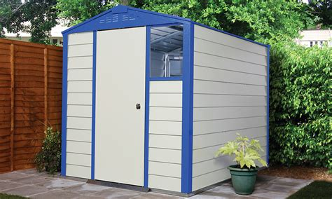 titan garden shed range metal sheds from trimetals