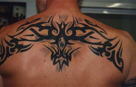 upper back tattoos for men tribal tattoos ideas design a tattoos designs