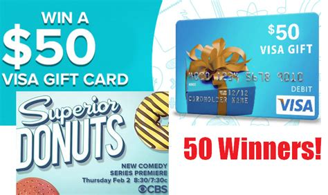 50 Visa Gift Card Giveaway - 50 visa gift card twitter giveaway from cbs 50 winners heavenly steals