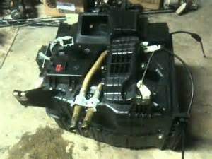90 93 honda accord heater core repair youtube