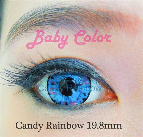 Softlens Buzan Color Normal Only rainbow baby color softlens blue pusatsoftlens