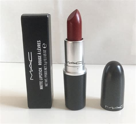 matte maroon lipstick mac matte lipstick stunner dark rose burgundy lip makeup m