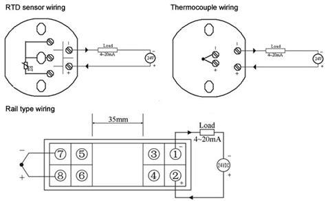 Temperature Transmitter Pt100 E K S B T J N R Type Ato Com