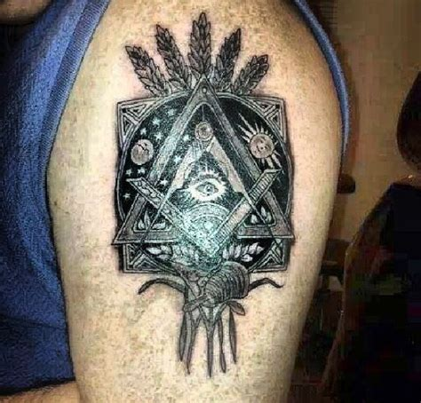 free mason tattoo freemason based on artwork from