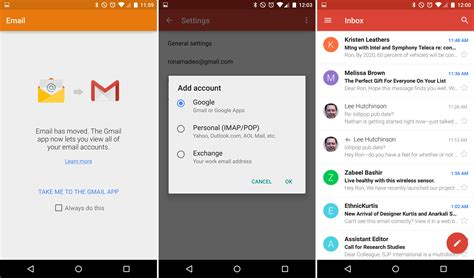 email application for android android 5 0 lollipop thoroughly reviewed ars technica