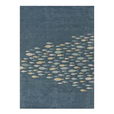 coastal living area rugs coastal living ch01 5 x 8 schooled aegean blue area rug nebraska furniture mart apartment