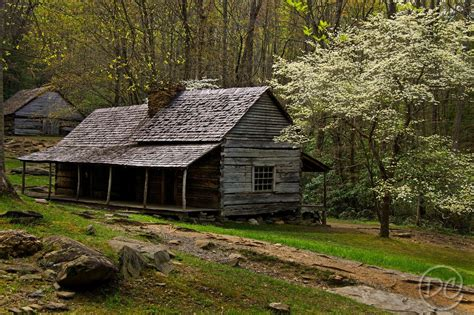 Great Smoky Cabins by Bud Ogle Cabin In Roaring Fork Motor Nature Trail