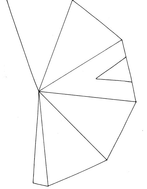 free coloring pages of paper teepee
