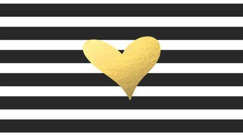 black and gold background 13 desktop background black white stripe with gold foil heart computer