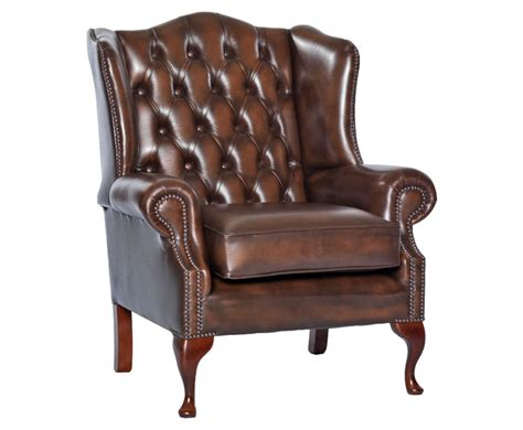 leather chairs uk amerigo antique brown leather fireside chair uk delivery
