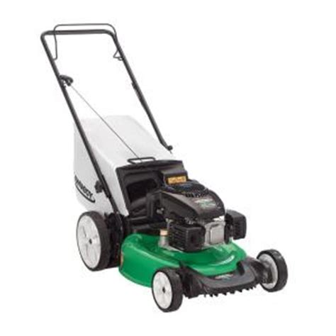 lawn boy 21 in high wheel push gas lawn mower with kohler