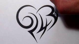 tattoo hidden numbers custom tattoo designs hidden tribal name brooke free