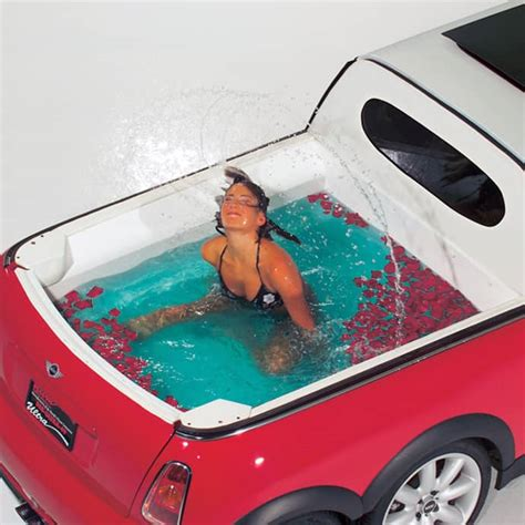 hummer limousine with pool mini xxl a cool fusion of a mobile mini pool and a limousine