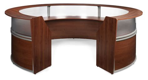 Oval Reception Desk 1pc Oval Modern Contemporary Office Reception Desk Of Map R5 Color4office