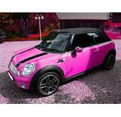 Pink Mini Cooper  MINI COOPER PINK
