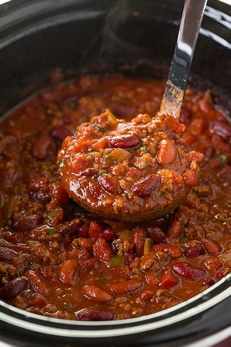 slow cooker chili recipes dishmaps