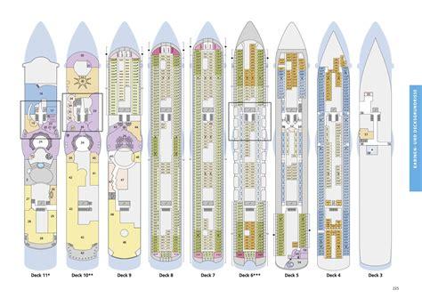 deckplan aidaprima aida deckplan alle deckpl 228 ne grundrisse der aida flotte