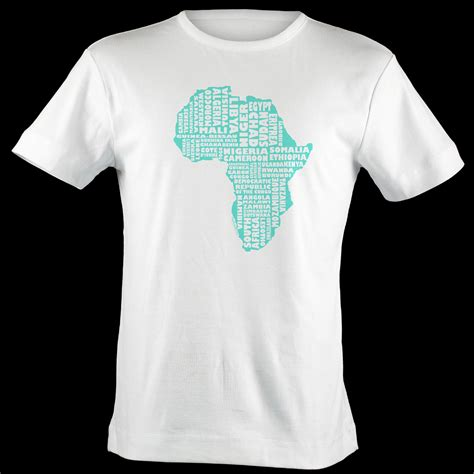 africa map t shirt africa shirt map africa typography map t shirt