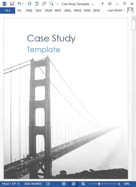 template for writing a study study templates 21 x ms word sles writing tutorials