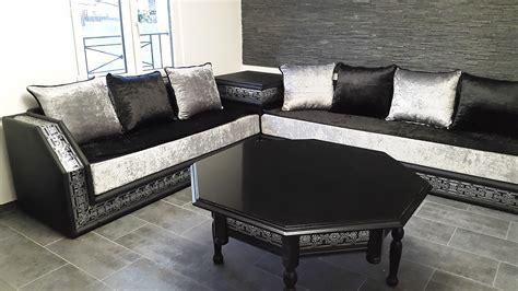 Beautiful Salon Oriental Gris  #1: Luxuria_star_noir_tissu_duz_noir_Gris_3.jpg