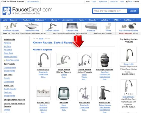 kitchen cabinet hardware com coupon code kitchen faucets from faucet direct promo code