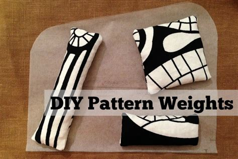 pattern weights pattern diy pattern weights the daily sew