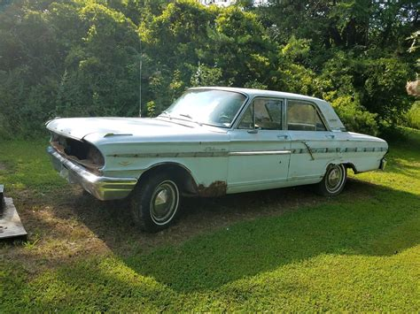 ford fairlane  rat rod donor  project barn find