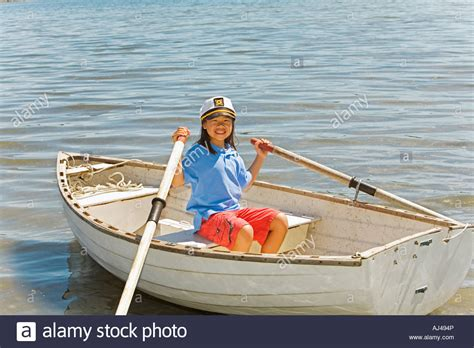 row boat en francais young asian girl in row boat stock photo 14616837 alamy