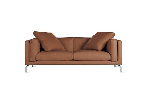 80 Inch Leather Sofa Como 80 Quot Sofa In Leather Design Within Reach