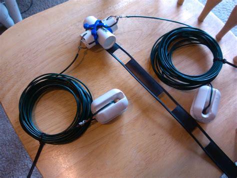 grv jr  size ham radio antenna  steps