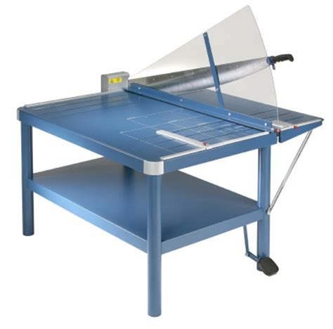 Paper Table L Dahle 585 Premium Large Format Guillotine Paper Trimmer