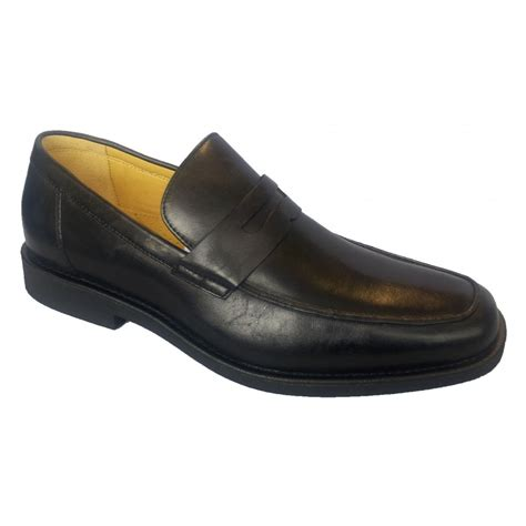shoe loafer steptronic mens audi black leather loafer shoe