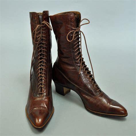 vintage boots 30s vintage lace up ankle boots vintage 30s boots