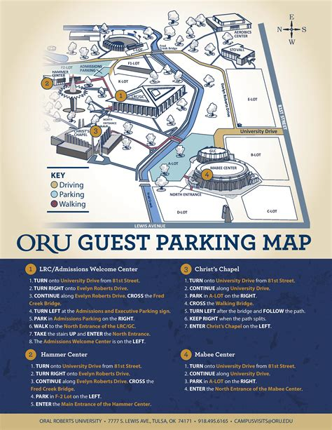 Oru Mba Degree Plan by Guest Parking Map