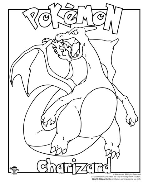 charizard coloring pages charizard colouring in pages charizard