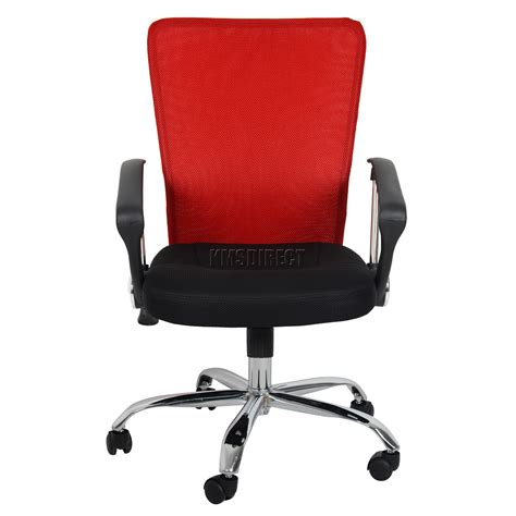 Cloth Desk Chair by Foxhunter Computer Executive Office Desk Chair Mesh Fabric